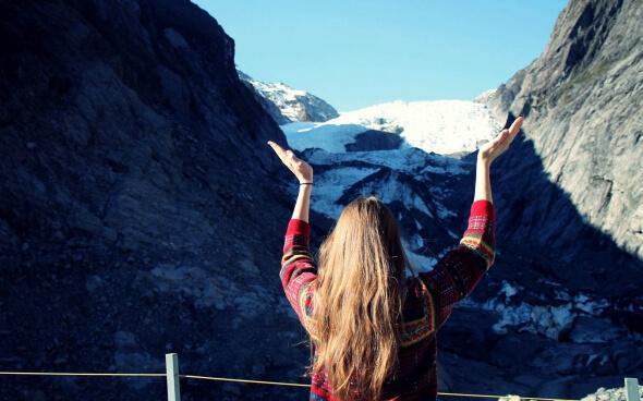 Franz Josef Glacier in Neuseeland