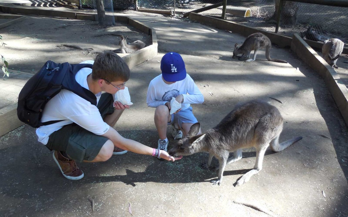 Au-pair in Australien: Sebastian Down Under!