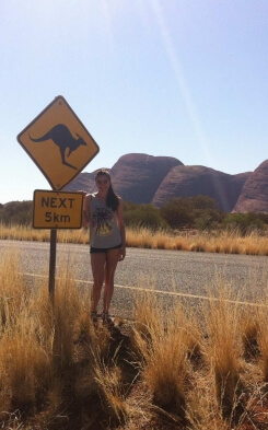 Vincenza kangaroo sign