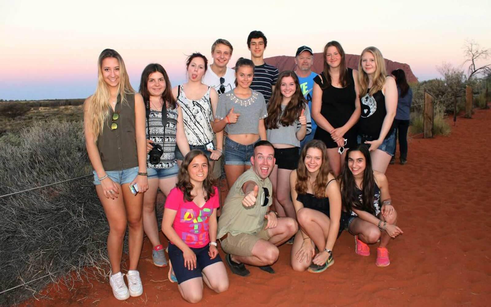 Vincenza Outback Gruppenfoto