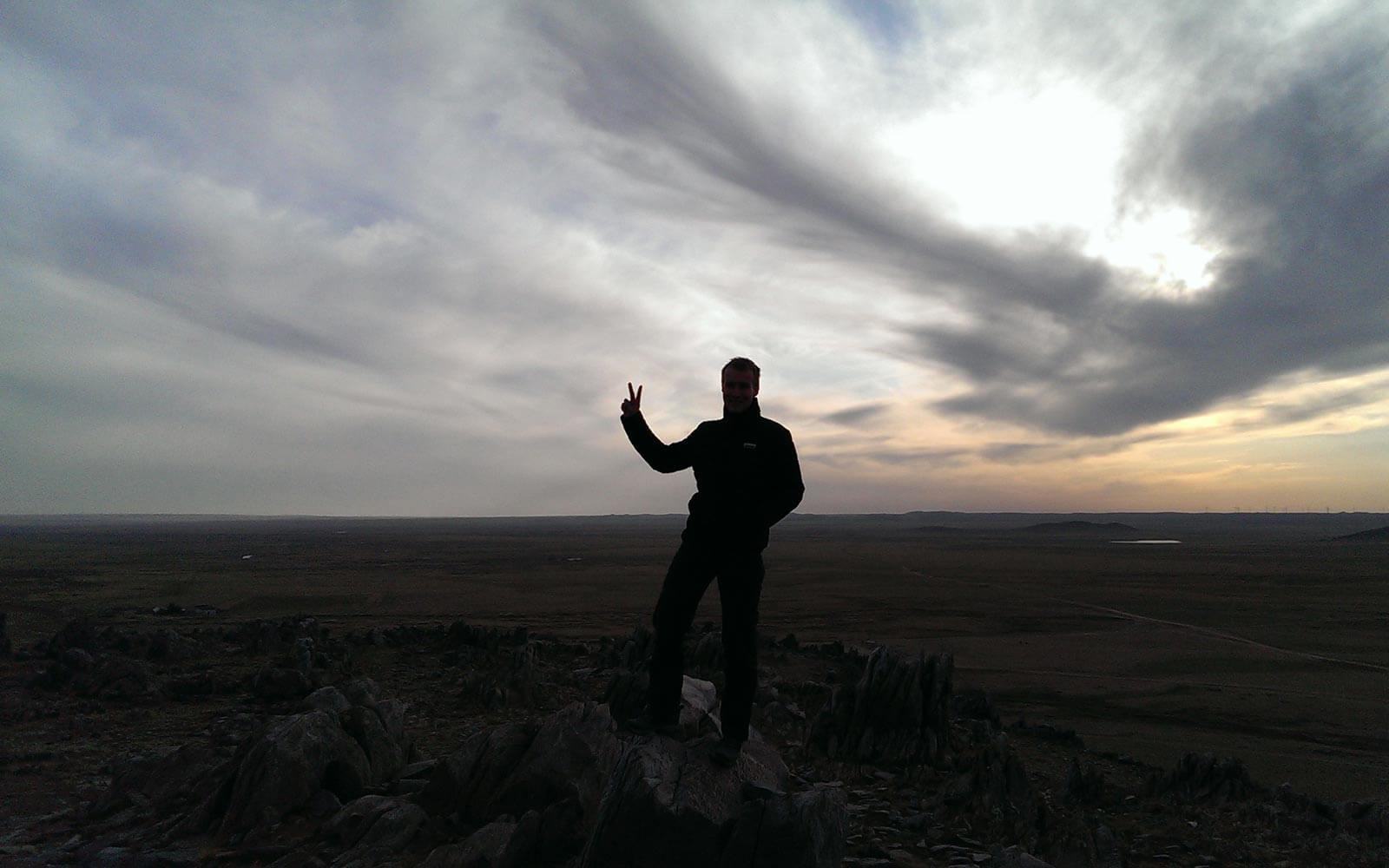 Berg Mongolei