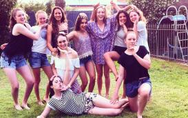 Vincenza und die girls