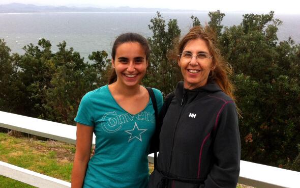 Vincenza und ihre Gastmutter