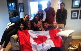 Alina in Kanada: Abschied