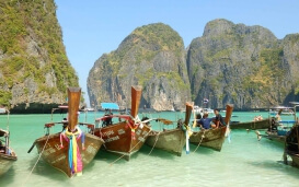 Boote in Thailand