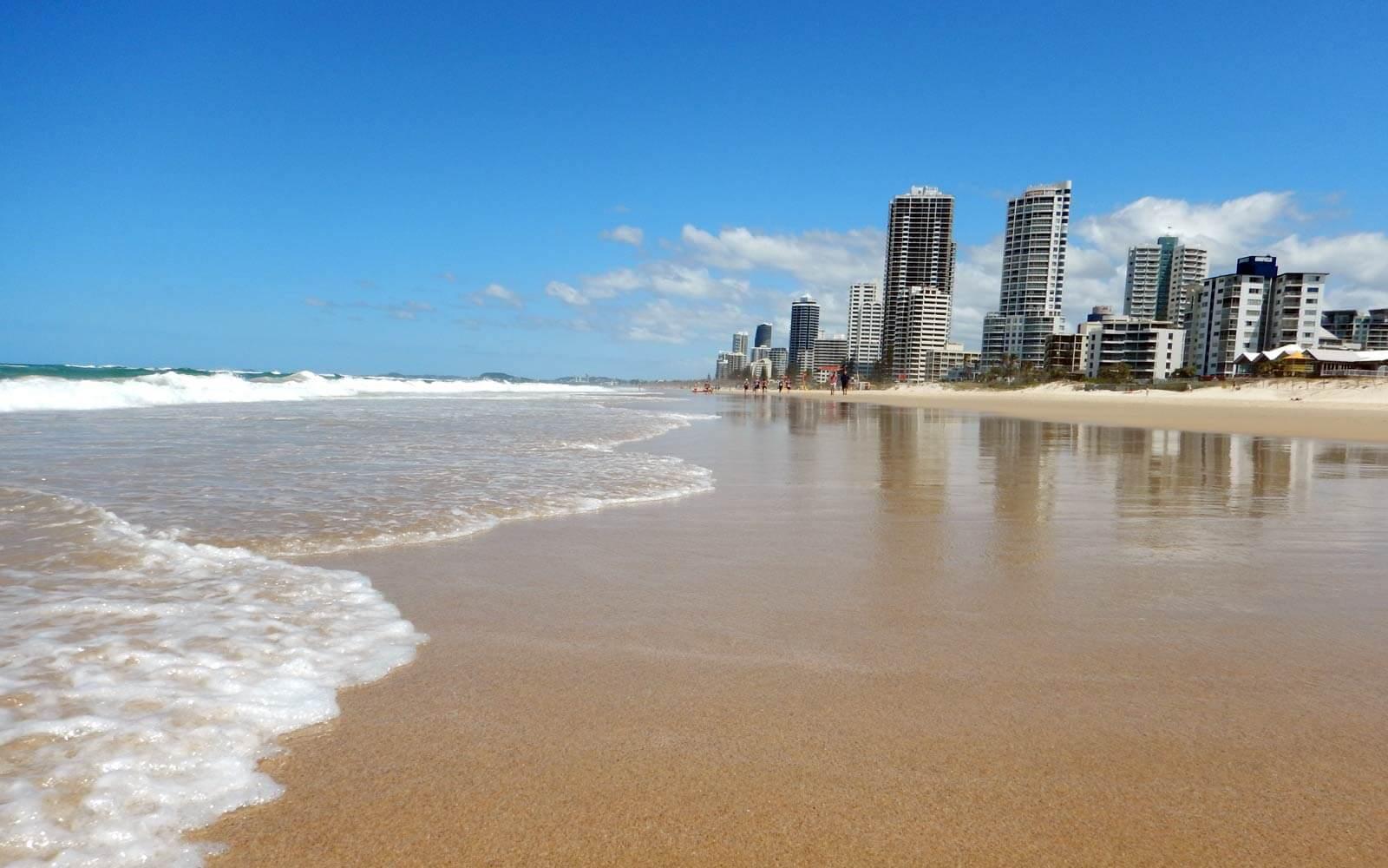 Demi-pair Australien: Surfers Paradise