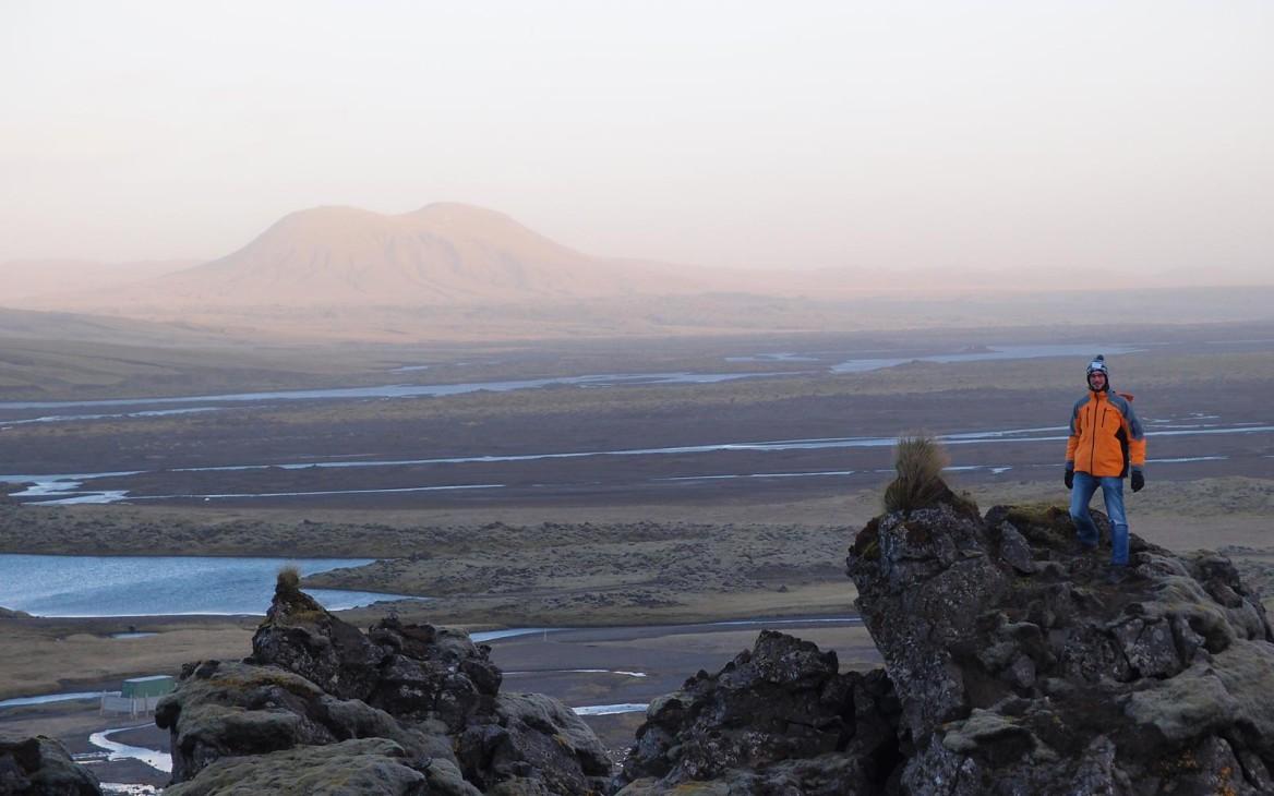 Ein Weltenbummler, der sein junges Herz an Island verloren hat