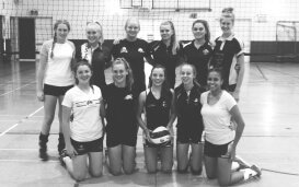 Nicoles Volleyballteam