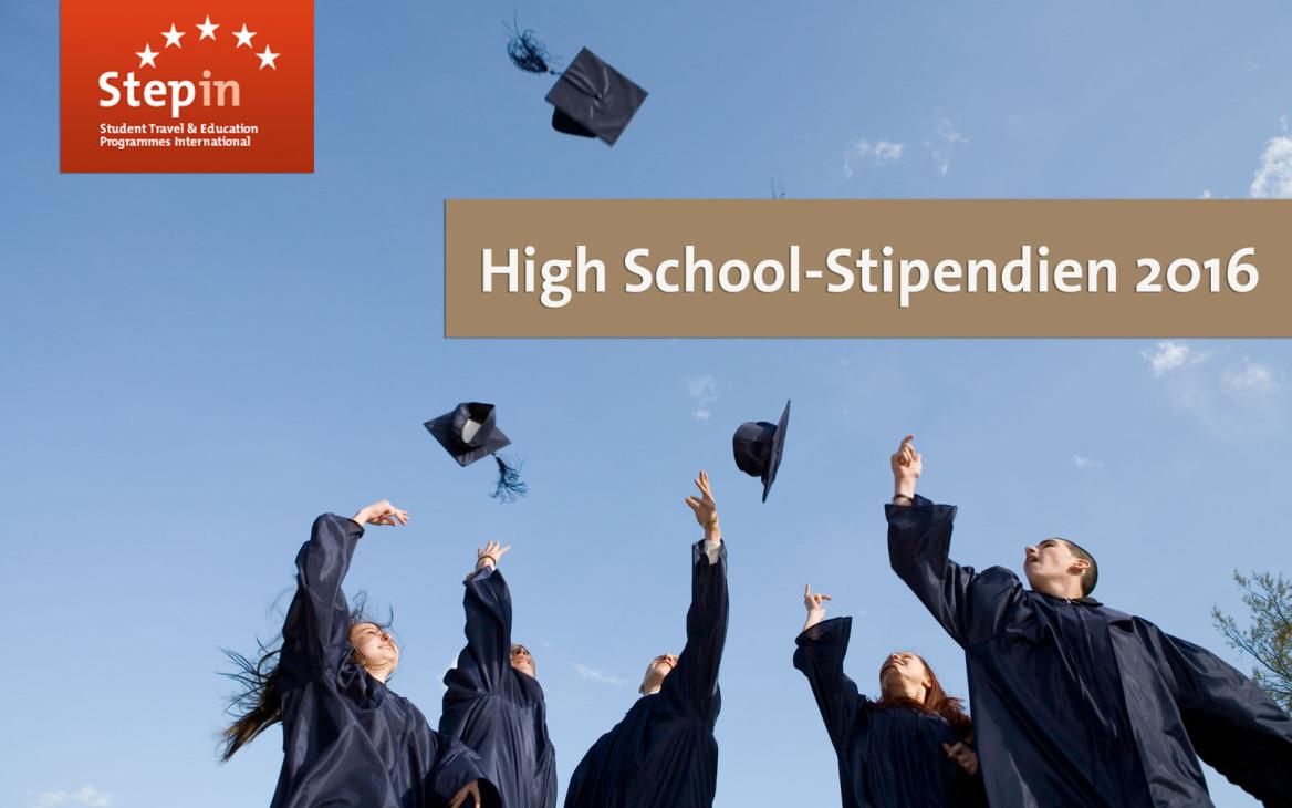 News: Bewerbung für High School-Stipendien 2016 ab sofort möglich