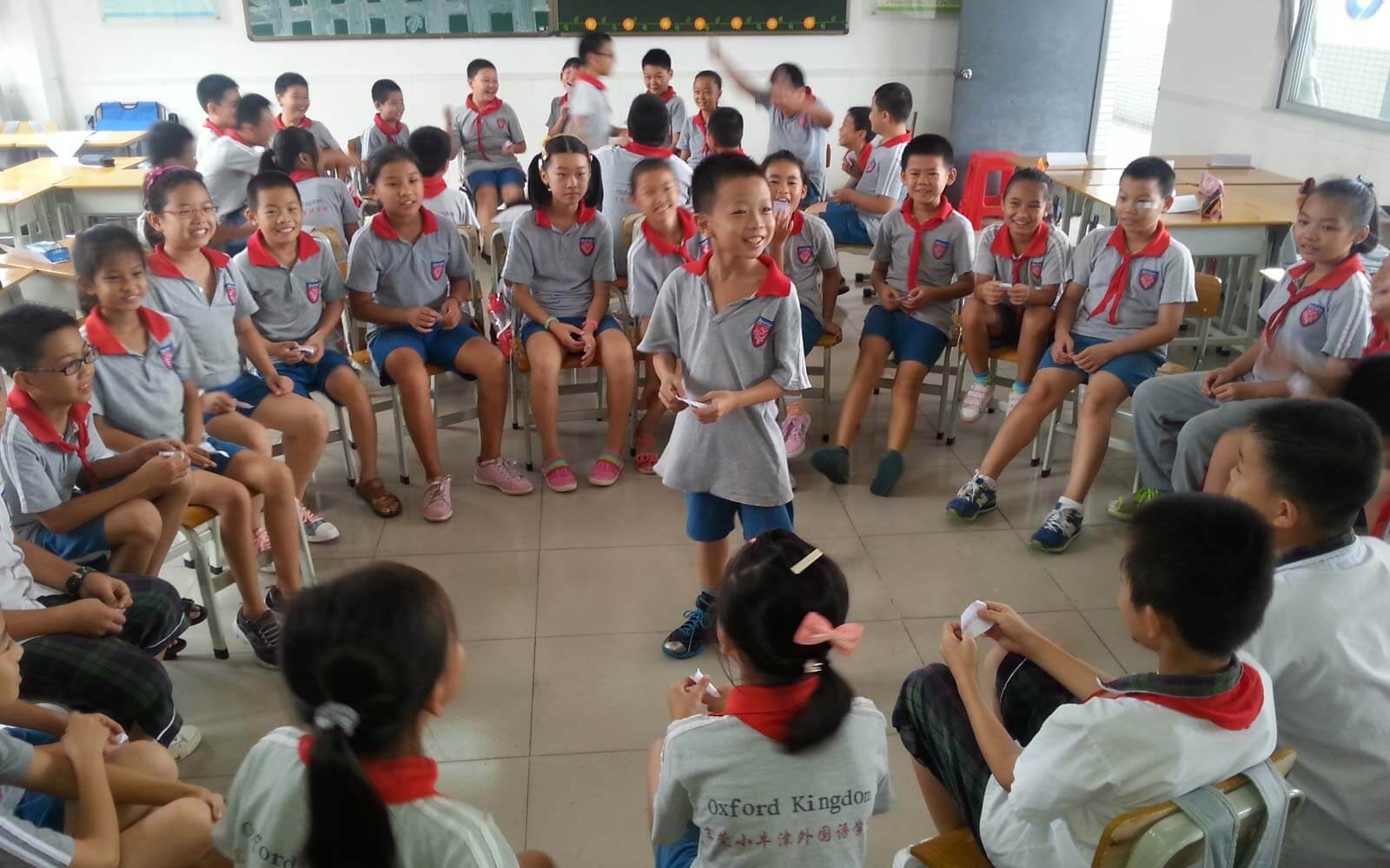 Teach and Travel China - Kinder