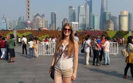Teach and Travel China - Kira in Peking