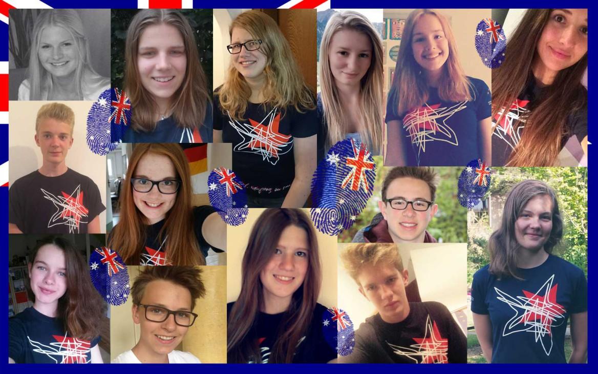 News: Unsere zukünftigen Austauschschüler in Australien stellen sich vor
