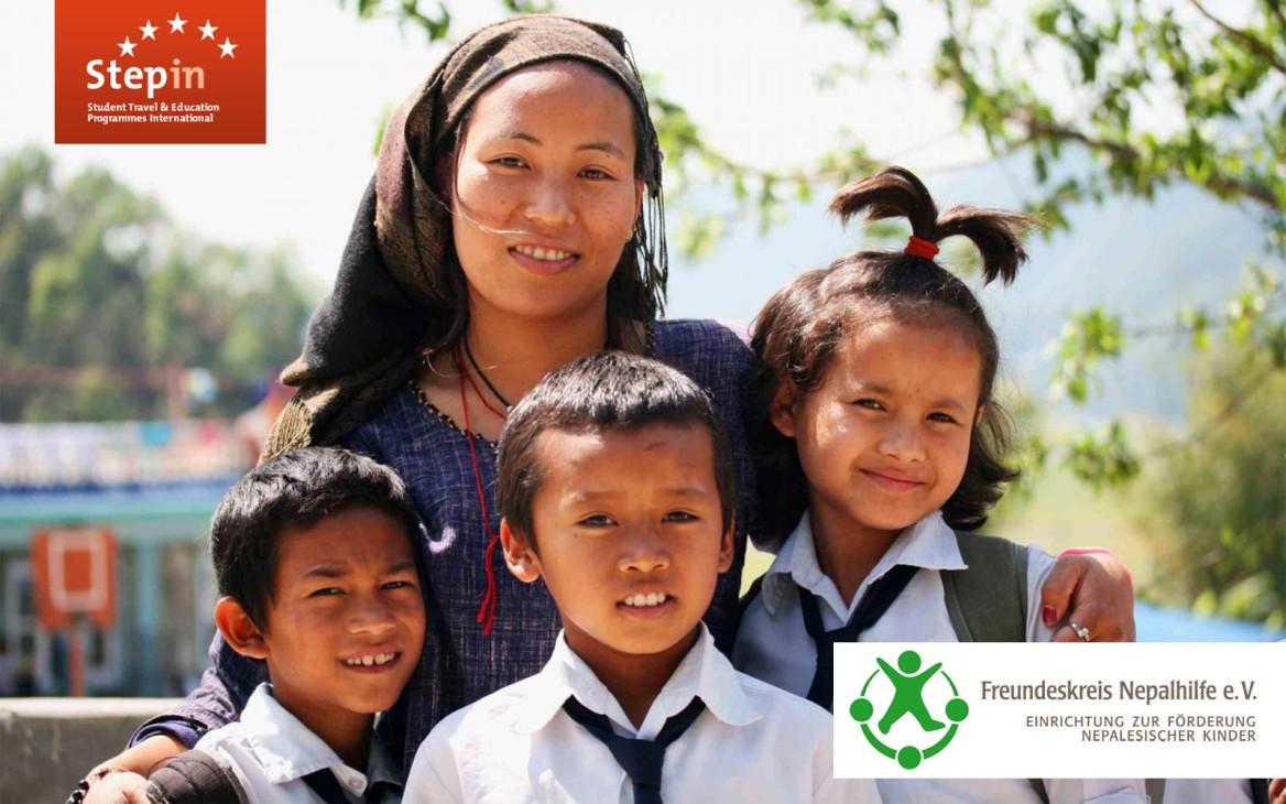 News: Stepin spendet € 10,- pro Volunteer-Anmeldung für Erdbebenopfer in Nepal