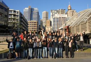 High School Australien: Gruppenausreise & Orientation in Sydney – Juli 2015