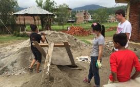 Wiederaufbau in Nepal