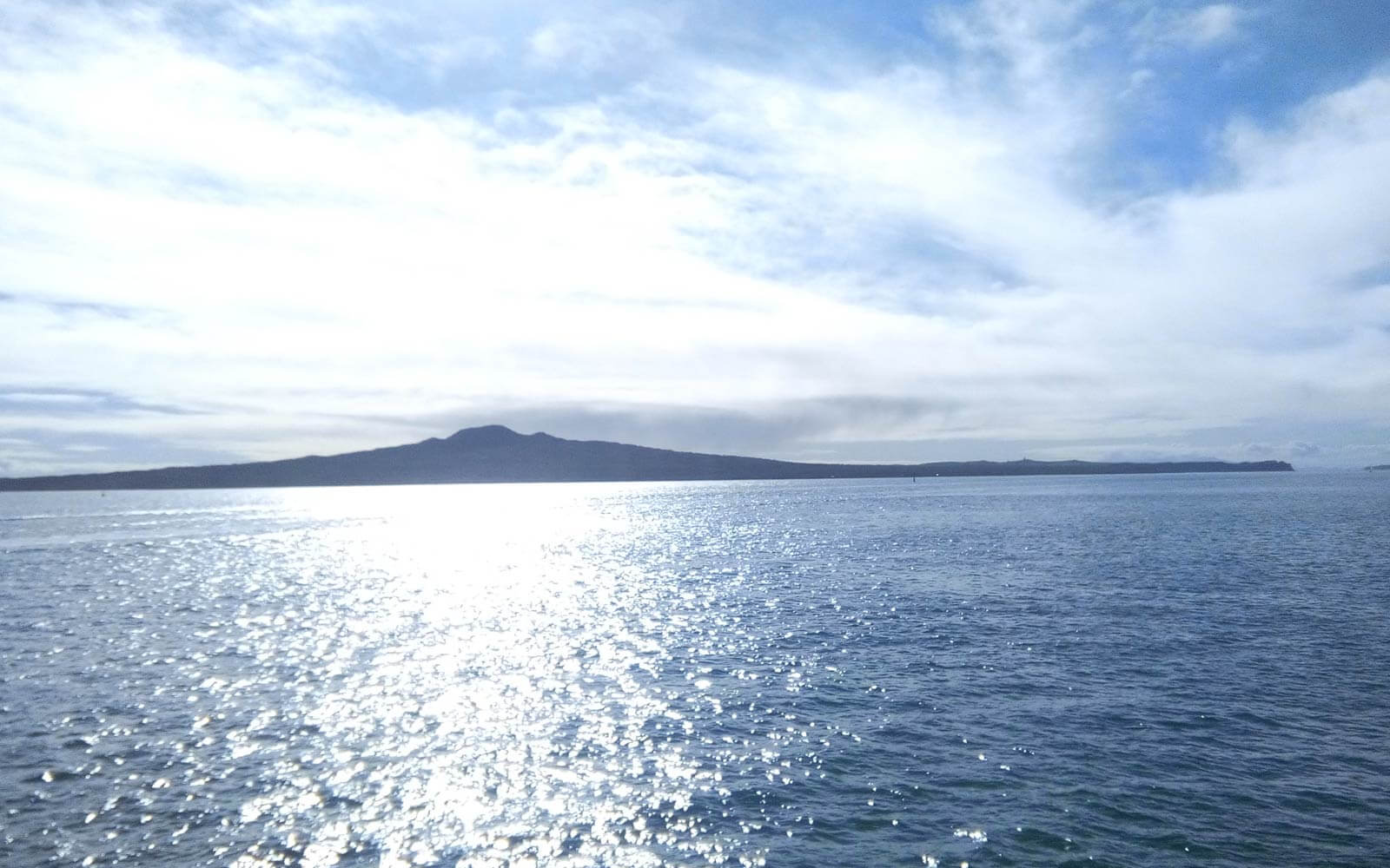 Rangitoto Island in Neuseeland