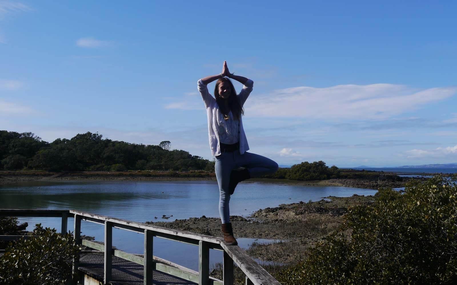 Miriam in Neuseeland