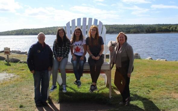 Annikas Gastfamilie in Kanada