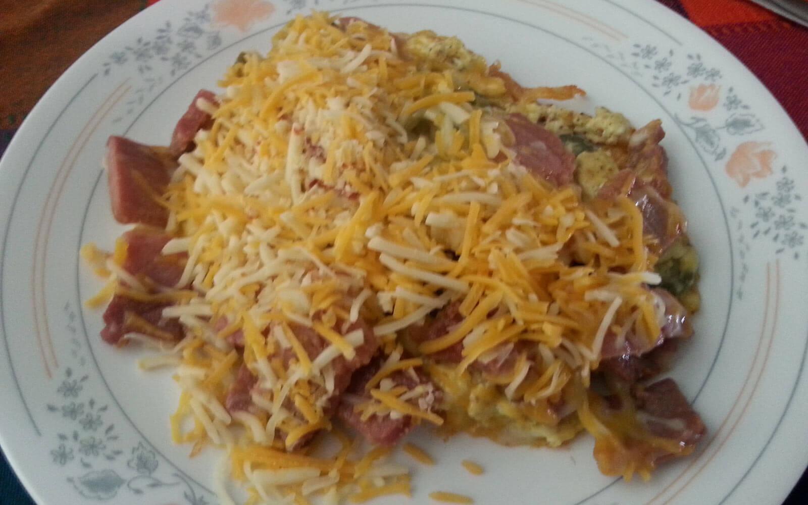Bacon and Fried Egg zum Frühstück