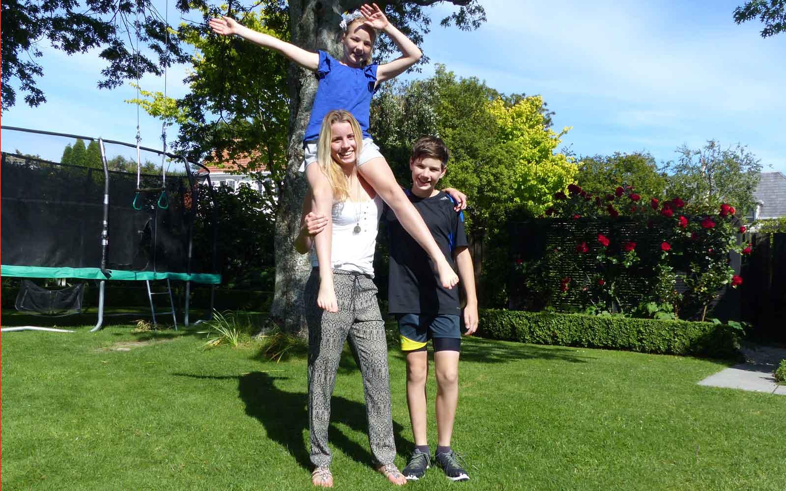 Lisa als Demi-Pair in Neuseeland