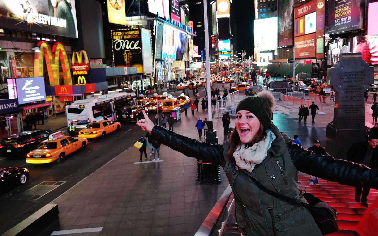 Melina in New York City