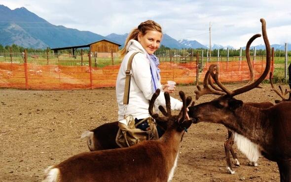 Melina als Au-pair in Alaska