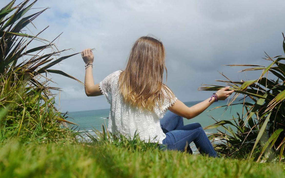 Miriam in Neuseeland #7: Von Wasserfällen, Surfstränden und Freundschaft