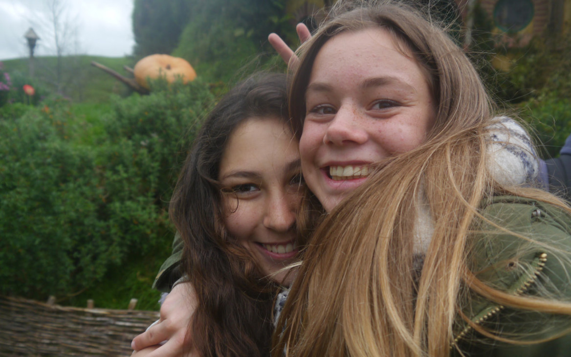 Miriam in Neuseeland #10: Hobbiton, »Leavers Dinner« und Showcase