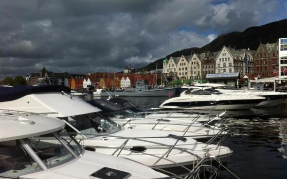 Bryggen - das Hanseviertel in Bergen