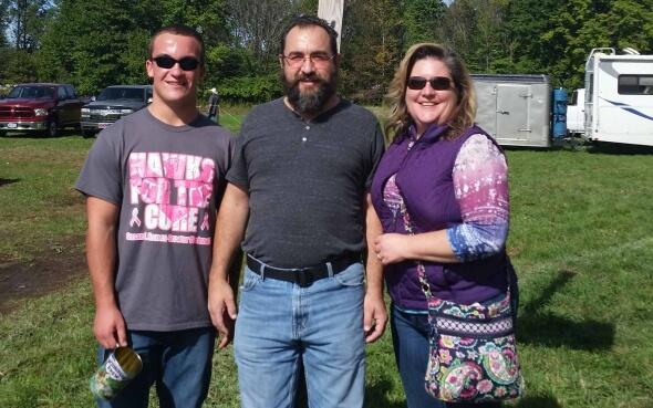 Daniel und seine amerikanische Gastfamilie