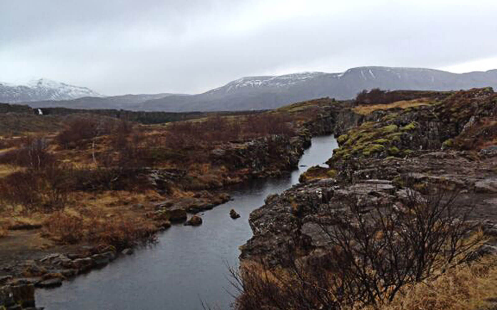 Flusslandschaft in Island