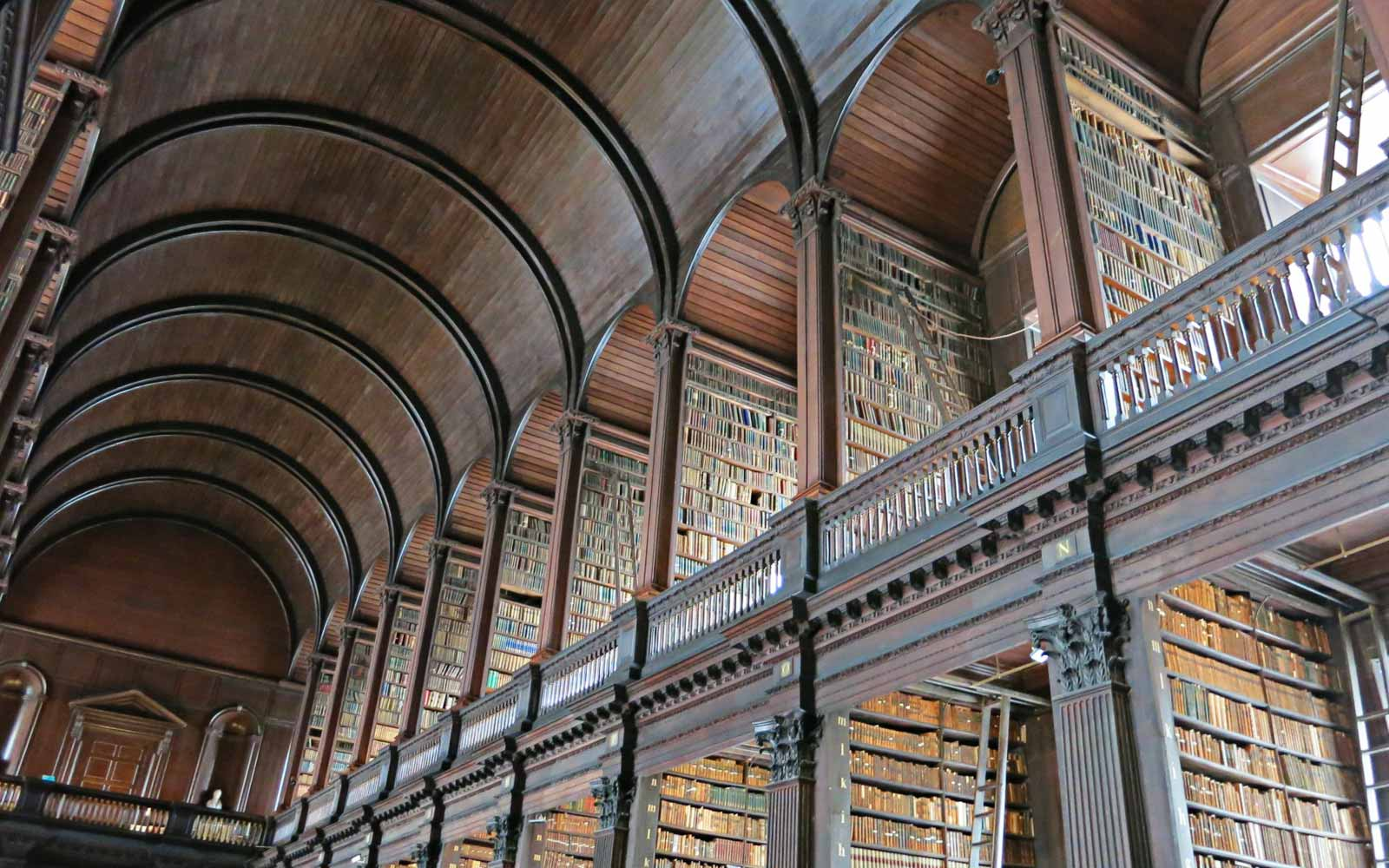 Long Room des Trinity College, Dublin