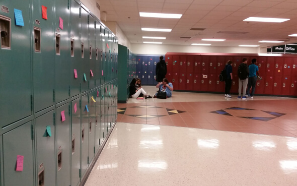 US-High School Locker