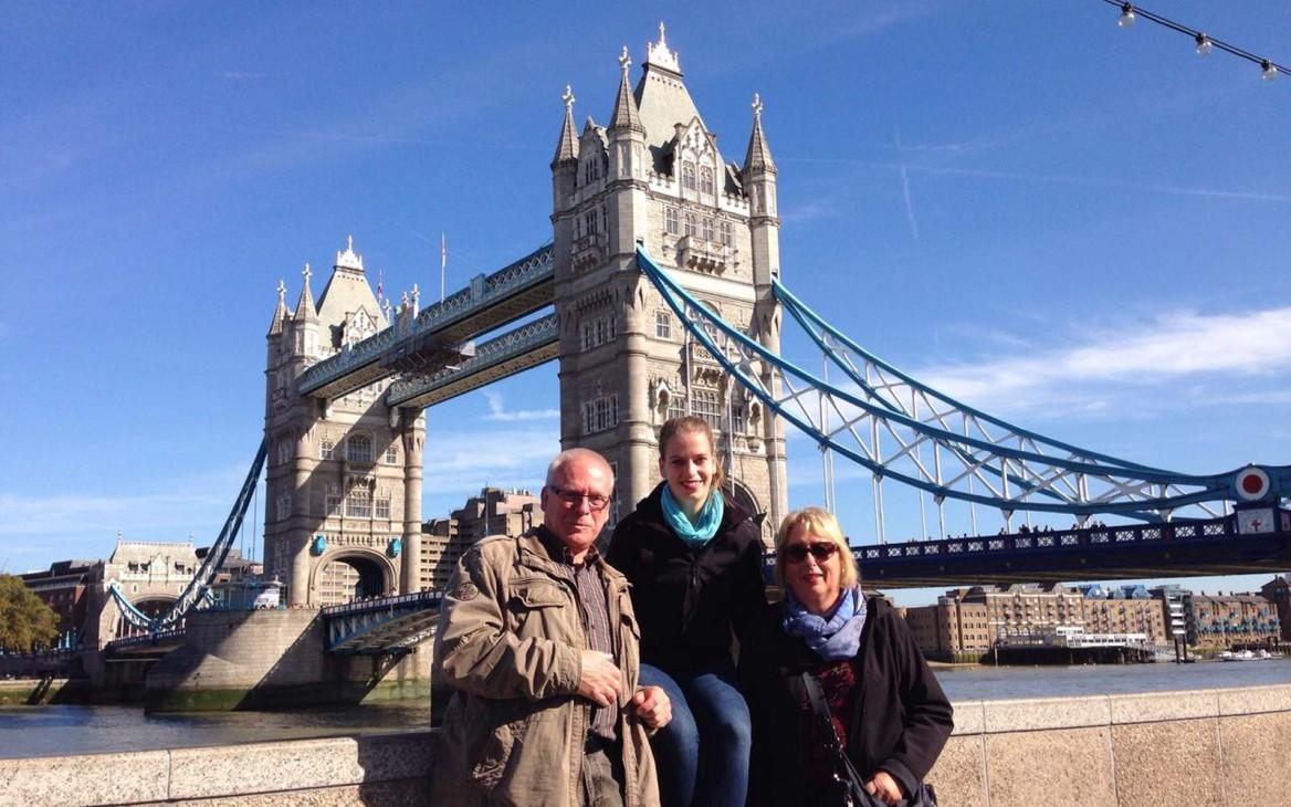 Luisa in England #6: Besuch aus der Heimat