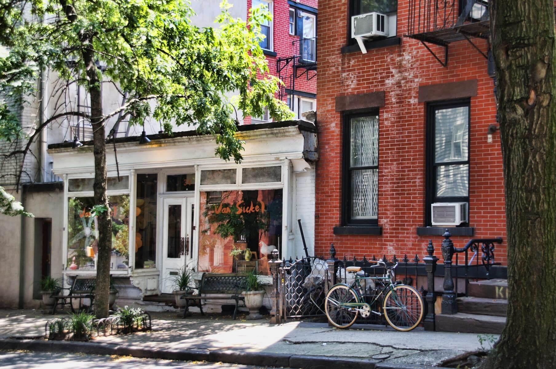Café in Brooklyn