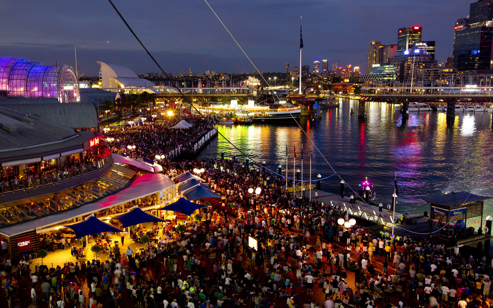 Australia Day im Darling Harbour in Sydney