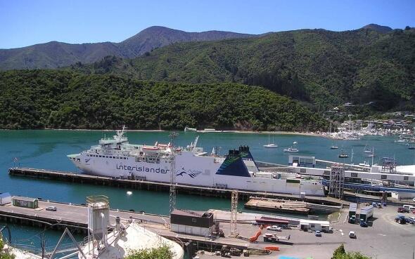 Fähre zur Südinsel Neuseelands