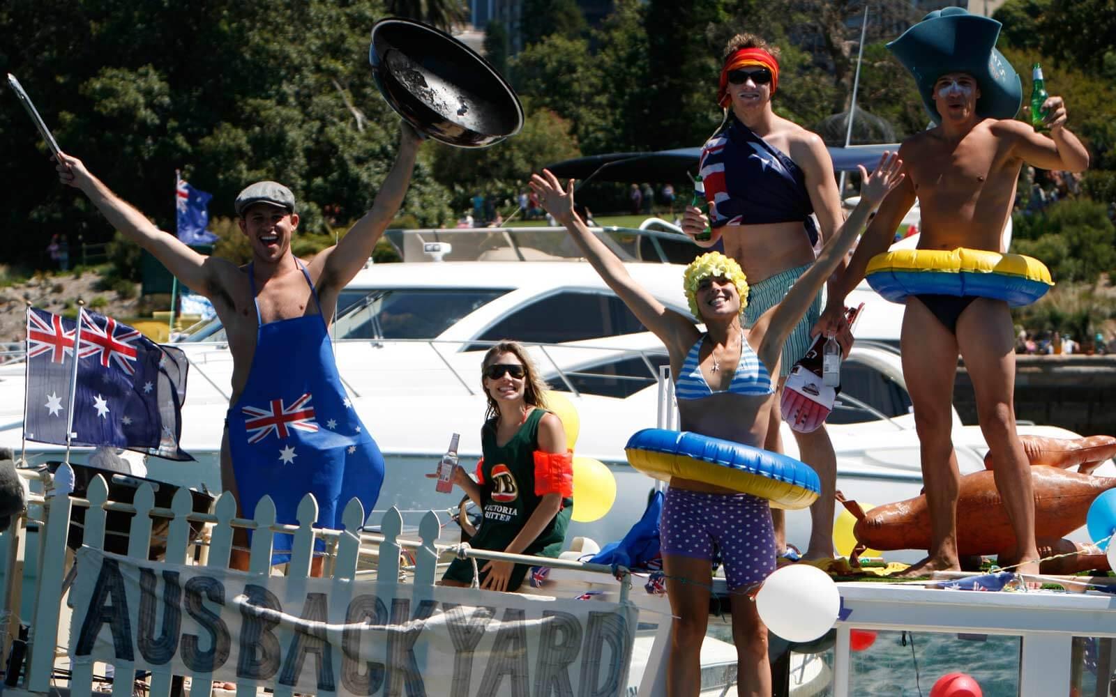 Australia Day: Partypeople
