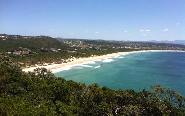 Plettenberg Bay Strand Südafrika