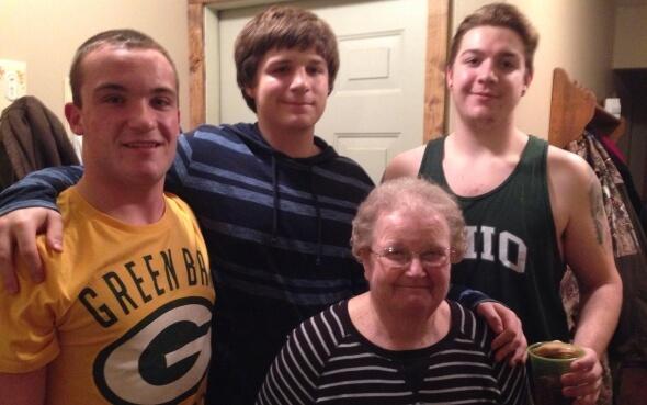 High School-Stipendiat Daniel und seine Gastfamilie
