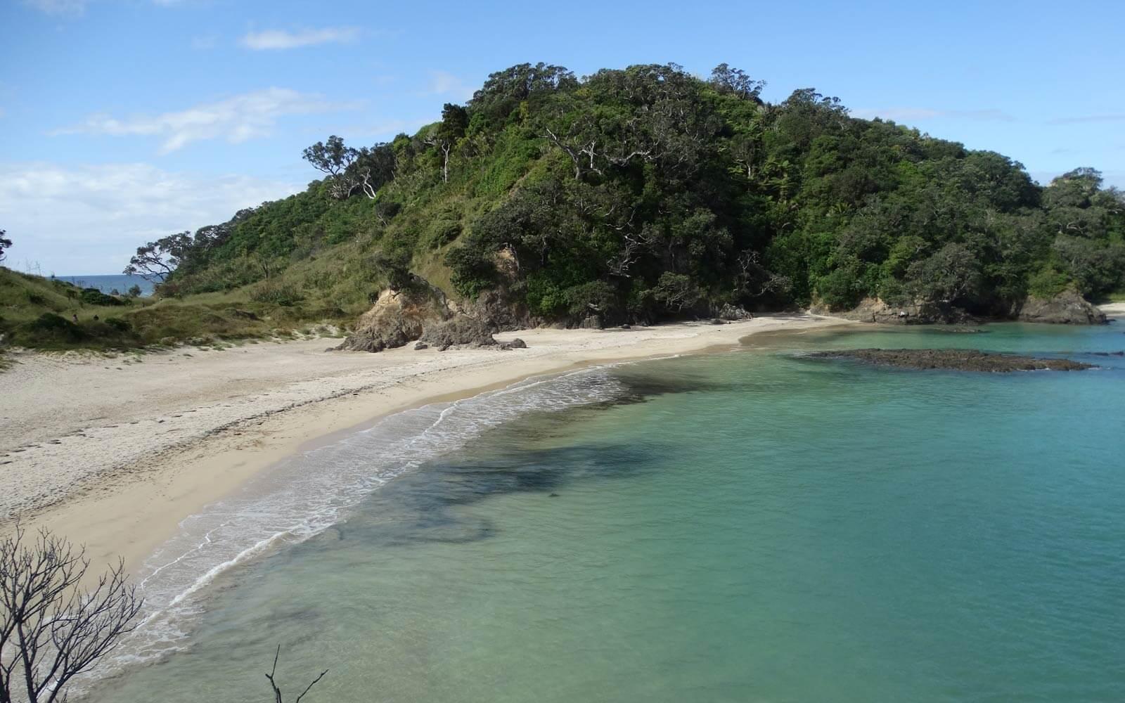 Kaituna Bay in Neuseeland