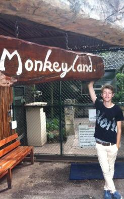 Till im Monkeyland in Südafrika