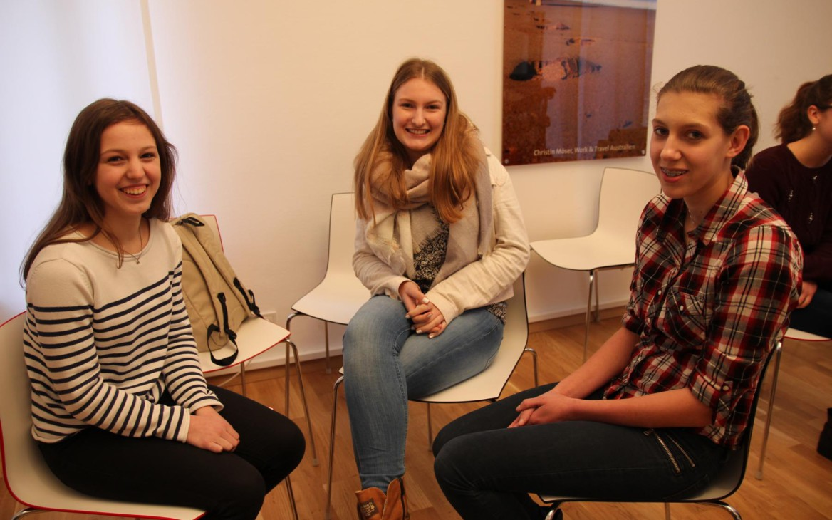 Stipendientag 2016:  Teamwork, Bagels und tiefenentspannte Kandidatinnen