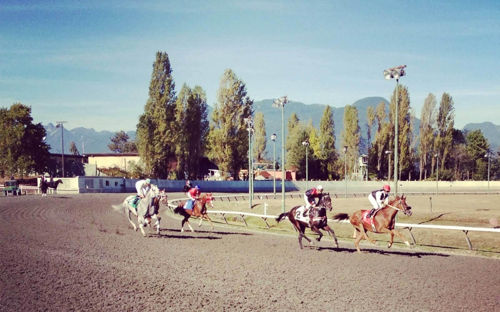 Pferderennen-British-Columbia-Kanada