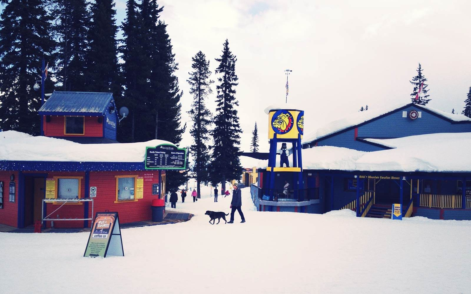 Schnee-Silverstar-Kanada