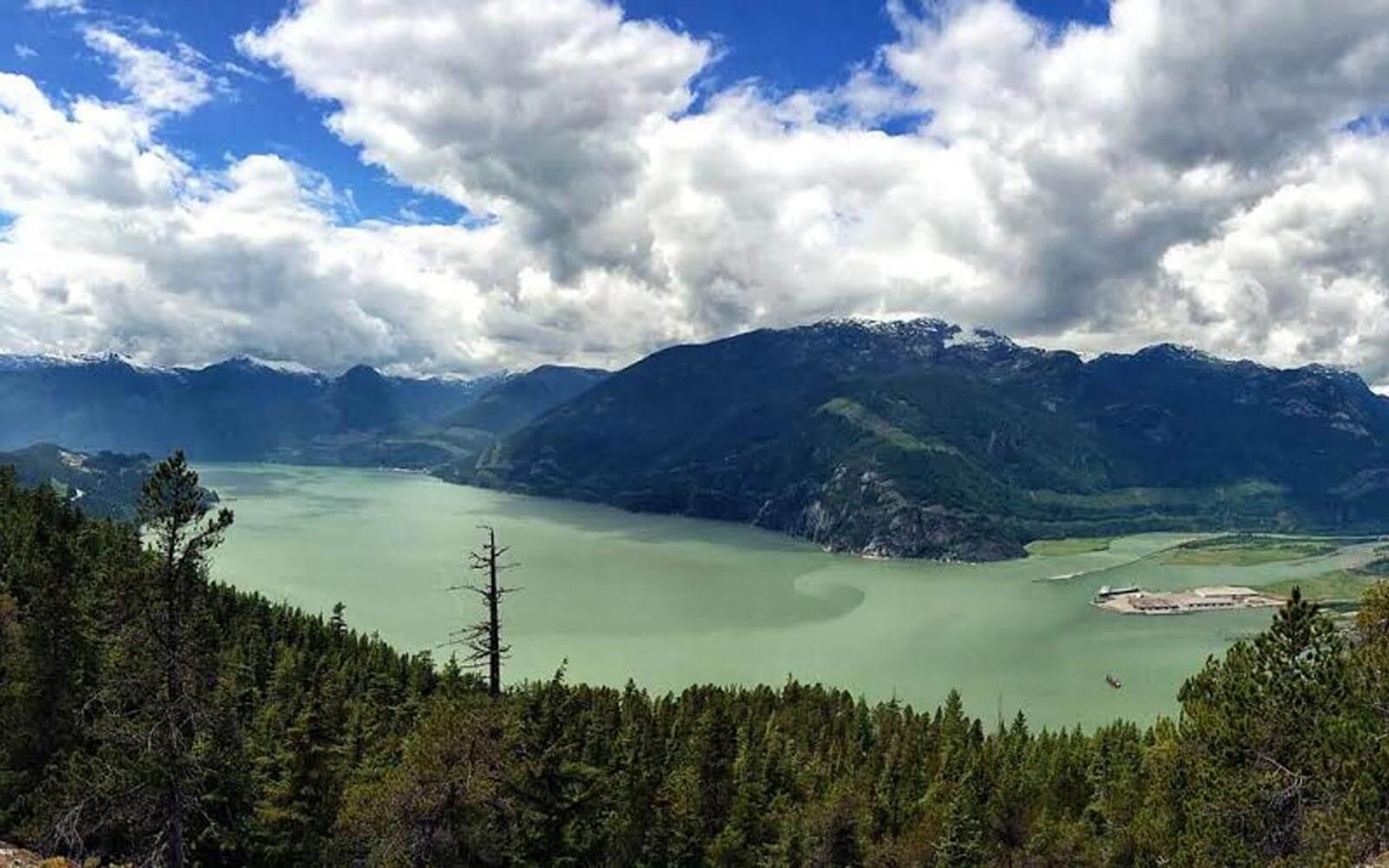 See-Berge-Squamish-Kanada