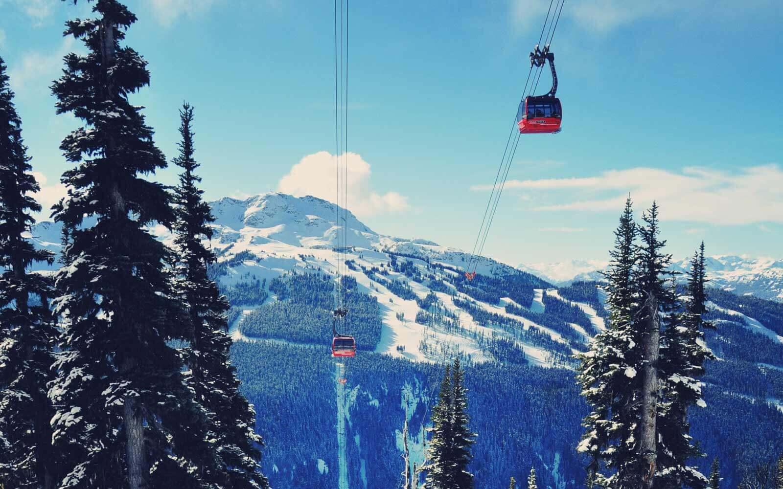 Skigebiet-Whistler-Kanada