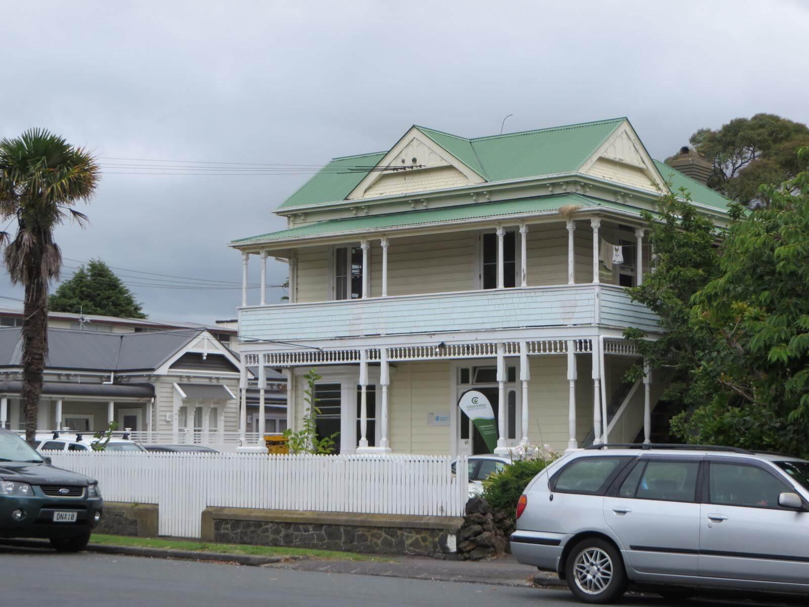Unterkunft der Volunteers in Auckland