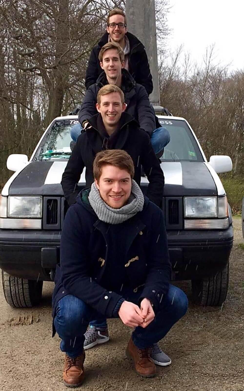 Marc und sein Team »Orient AIXpress«