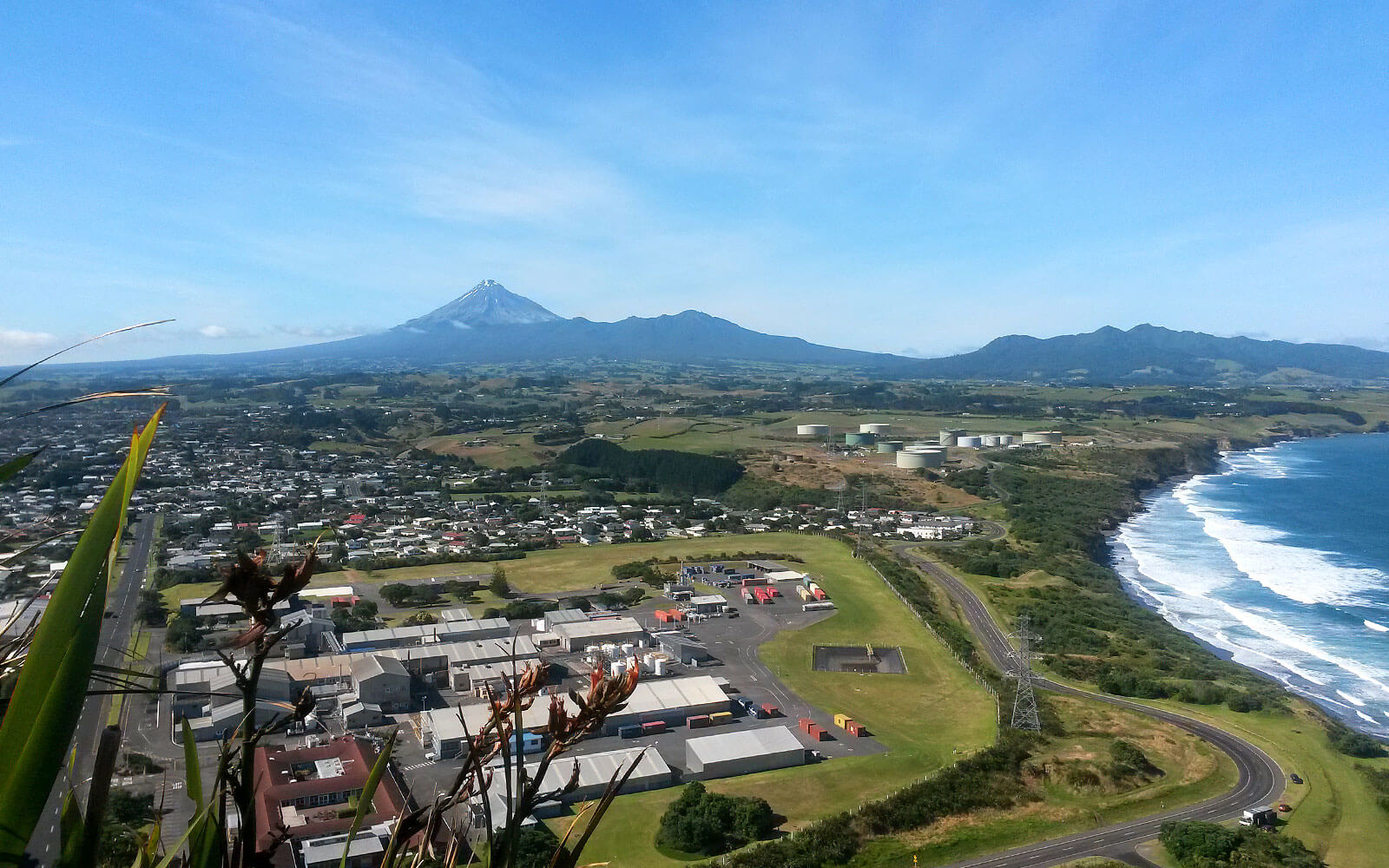 New Plymouth in Neuseeland